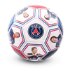 Paris Saint Germain - Club Crest & Players Photo Football (Size 5)