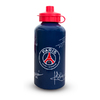 Paris Saint Germain - Club Crest & Players Signatures Aluminium Water Bottle (500ml)