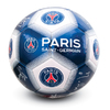 Paris Saint Germain - Club Crest & Players Signature Football (Size 5)