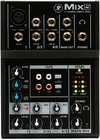 Mackie MIX5 Mix Series 5-Channel Compact Mixer (Black)