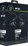 Mackie MP-220 MP Series Dual Dynamic Driver Professional In-Ear Monitors (Black)