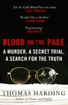 Blood On the Page - Thomas Harding (Paperback)