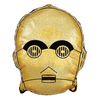 Star Wars: The Last Jedi - Gold Shaped Cushion