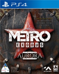 Metro Exodus - Aurora Limited Edition (PS4) - Cover