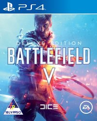 Battlefield V - Deluxe Edition (PS4) - Cover