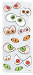 Unique Party - Halloween Cello Bags With Twist Ties - Eyes (Pack of 20)