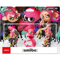 Nintendo amiibo - Splatoon Octoling: Octoling Girl, Octoling Boy, & Octoling Octopus - 3-Pack
