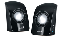 Genius Stereo USB Powered Speakers SP-U115 - Black - Cover