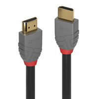Lindy 0.3m HDMi High Speed Cable Anthracite - Cover