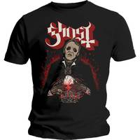 Ghost Danse Macabre Men's Black T-Shirt (Small) - Cover