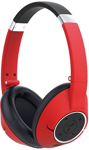 Genius HS-930BT Head-band Binaural Wireless Mobile Headset - Red - Cover