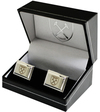West Ham United F.C. - Silver Plated Cufflinks