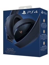 Sony - Gold Wireless Headset 500 Million Translucent Limited Edition (PS4) - Cover