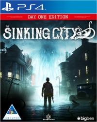 The Sinking City - Day One Edition (PS4) - Cover