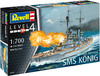 Revell - 1/700 - WWI Battleship SMS KÖNIG (Plastic Model Kit)