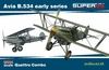 Eduard - Kit: 1/144 Super 44 - Avia B.534 Early Quattro Combo (Plastic Model Kit Add-On)