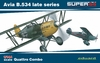 Eduard - Kit: 1/144 Super 44 - Avia B.534 Late Quattro Combo (Plastic Model Kit Add-On)