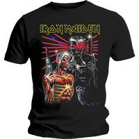 Iron Maiden Terminate Men's Black T-Shirt (X-Large) - Cover