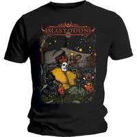 Mastodon Seated Soverign Men's Black T-Shirt (X-Large) - Cover