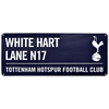 "Tottenham Hotspur - Club Crest & Text ""WHITE HART LANE N17"" Colour Street Sign"