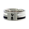 Tottenham Hotspur - Club Crest Colour Stripe Ring (Medium)