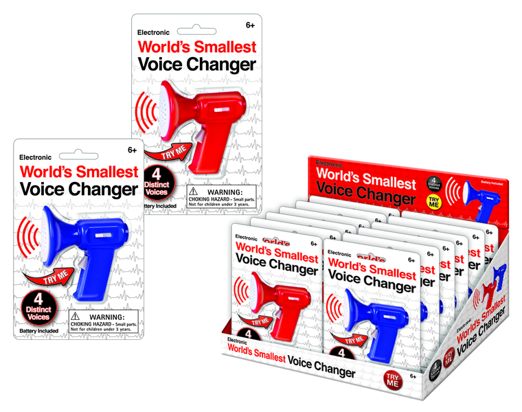 Westminster - Worlds Smallest Voice Changer