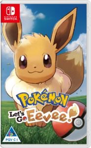 Pokémon: Let's Go, Eevee! (Nintendo Switch) - Cover