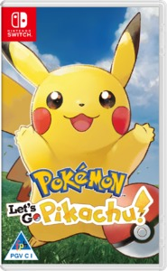 Pokémon: Let's Go, Pikachu! (Nintendo Switch) - Cover