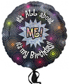 Anagram - 18 inch Circle Foil Balloon - All About Me Birthday