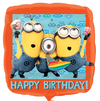 Anagram - 18 inch Foil Balloon - Birthday Despicable Me