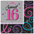 Amscan - Sweet 16 Celebration - Luncheon Napkins (Pack of 16) Cover