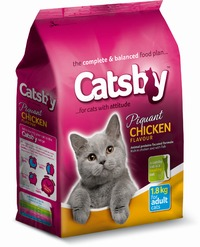 Catsby - Dry Cat Food - Chicken (1.8kg) - Cover