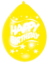 Amscan - Minipax Balloons - Happy Birthday (Pack of 10)
