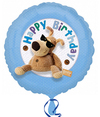 Anagram - 18 inch Foil Balloon - Boofle Happy Birthday