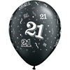 Qualatex - 11 inch Latex Balloon - 21 Around (Pack of 25)