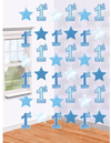 Amscan - String Decoration - 1st Birthday - Boy (Pack of 6)