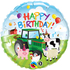 Qualatex - 18 inch Round Foil Balloon - Birthday Barnyard