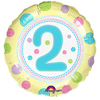 Anagram - 18 inch Circle Foil Balloon - Spoton Age 2
