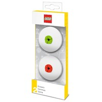 LEGO IQHK - LEGO Erasers (Red & Lime) - Cover