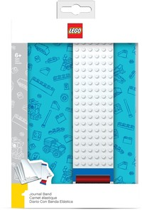 LEGO IQHK - LEGO Journal with Building Band (Blue) - Cover