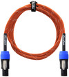Orange 6 Foot Speakon to Speakon Speaker Cable