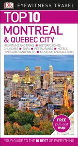 Eyewitness Top 10 Montreal & Quebec City - Dk Travel (Paperback) - Cover