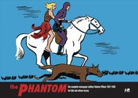 Phantom the Complete Newspaper Dailies By Lee Falk and Wilson Mccoy: Volume Fifteen 1957-1958 - Lee Falk (Hardcover) - Cover