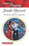 Married for a One-night Consequence - Jennifer Hayward (Paperback)