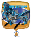 Anagram - 18 inch Square Foil Balloon - Batman Happy Birthday