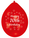 Amscan - Minipax Balloons - Happy 70th Birthday (Pack of 10) Cover