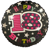 Simon Elvin - 18 inch Foil Balloon - Birthday 18th Female Cover