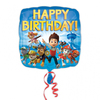 Anagram - 18 inch Square Foil Balloon - Paw Patrol Happy Birthday