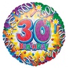 Anagram - 18 inch Met Foil Balloon - 30th Birthday Explosion Cover