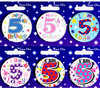 Simon Elvin - Small Badge - Age 5 (Pack of 6)